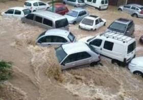 Pluies torrentielles à Montpellier