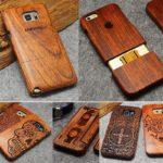 coques téléphone bois